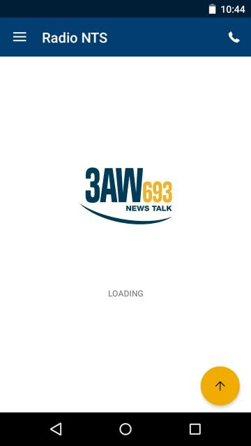 Radio 3AW- screenshot