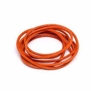 Läderrem, orange