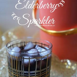 Elderberry Champagne Sparkler