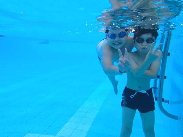 Bơi lội xóa tan nguy cơ béo phì cho trẻ