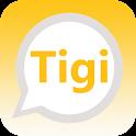 Tigi Chat :Public Chat &social icon