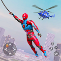 Spider Rope Hero Robot - Vegas Crime City Gangster icon