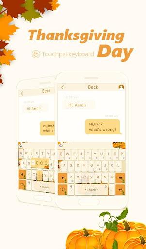 玩免費健康APP|下載TouchPal November Feast Theme app不用錢|硬是要APP
