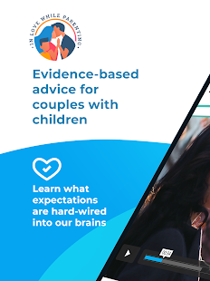 In Love while Parenting - Couples App