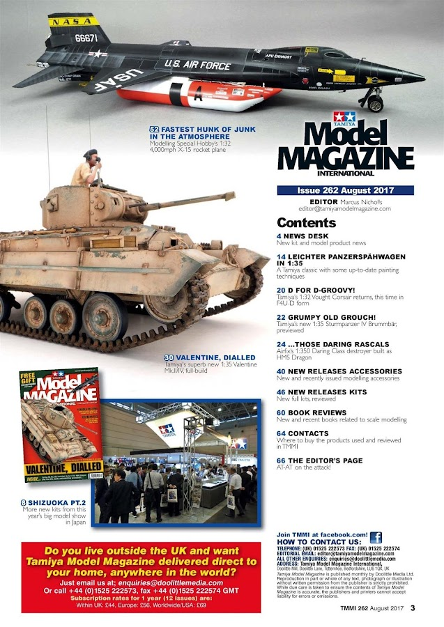 Tamiya Model Magazine Int.- screenshot