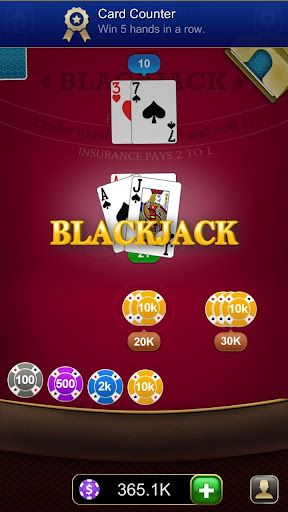 Blackjack 21 1.2.6 Mod screenshots 3