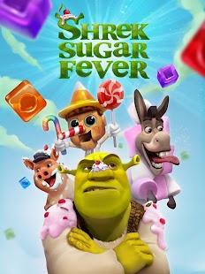 Shrek Sugar Fever - Juego de puzle Screenshot