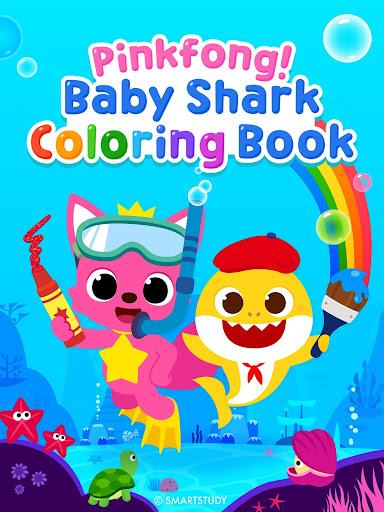 Pinkfong Baby Shark Coloring Book screenshot 17