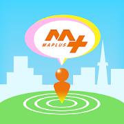 MAPLUSキャラdeナビ 地図・カーナビ・渋滞情報が無料