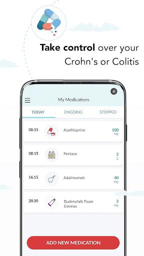 my ibd care: manage your crohn's & colitis better screenshot 2