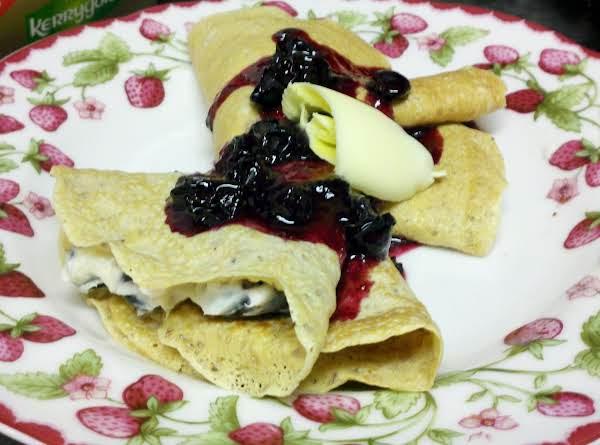 Good Morning Blueberry Crêpes