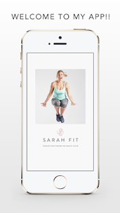 Sarah Fit Official App- screenshot thumbnail