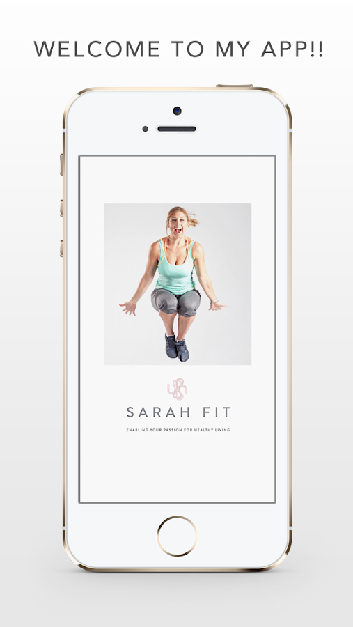 Sarah Fit Official App- screenshot