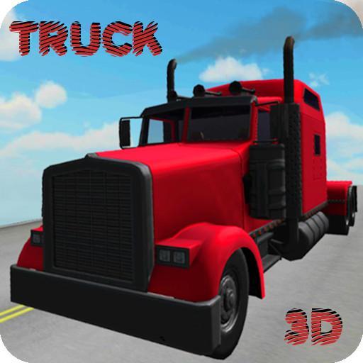 Truck Racing City Icon