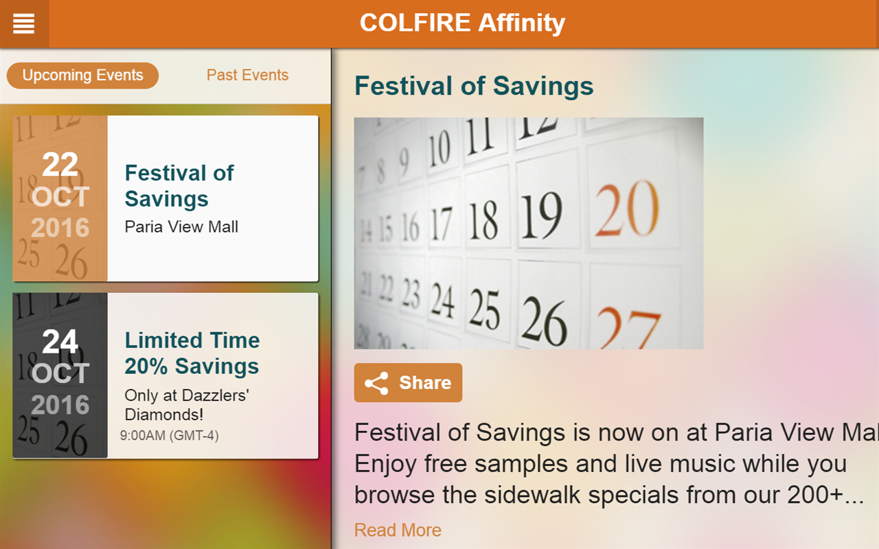 COLFIRE Affinity- screenshot
