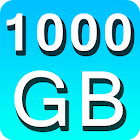 1000 GB salvare i file prank icon