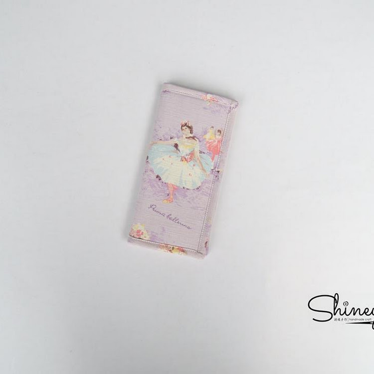 Handmade Long Wallet (Ballet Girls) by Shiney Craft & Zakka 诗绫手作