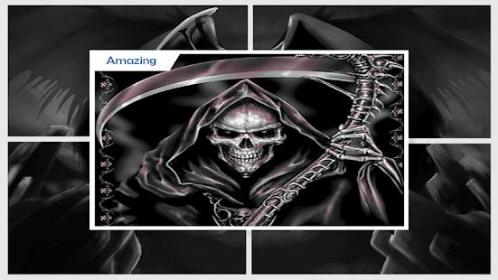 Flaming Grim Reaper Live Wallpaper - náhled