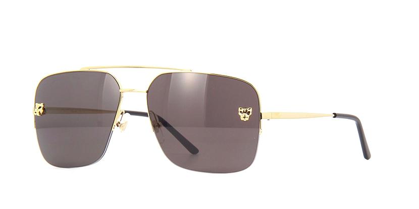 Cartier Panthere CT0244S 001 Smoke Sunglasses | Pretavoir