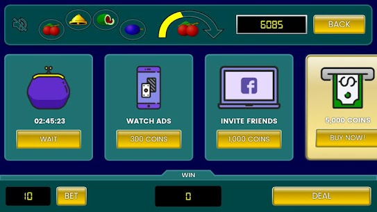 Fruit Poker Classic App Download For Android and iPhone 2