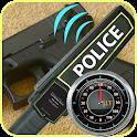 Police Metal detector icon