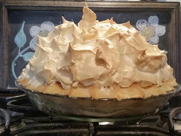 My Mile High Chocolate cream meringue pie