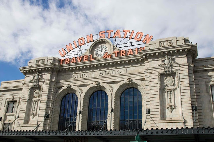 The iconic Union Station, symbol of LoDo and Denver.