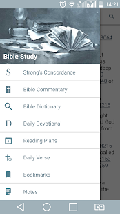 Bible Study - Dictionary, Commentary, Concordance! Screenshot
