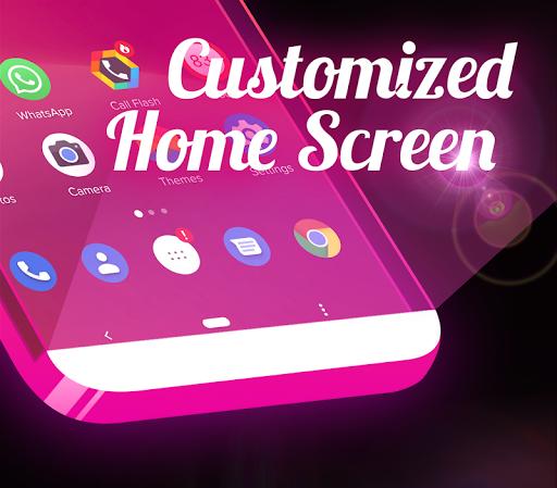 Color Flash Launcher - Call Screen, Themes 1.1.4 screenshots 5