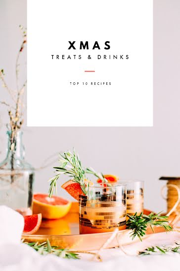 Top Ten Christmas Recipes - Christmas template