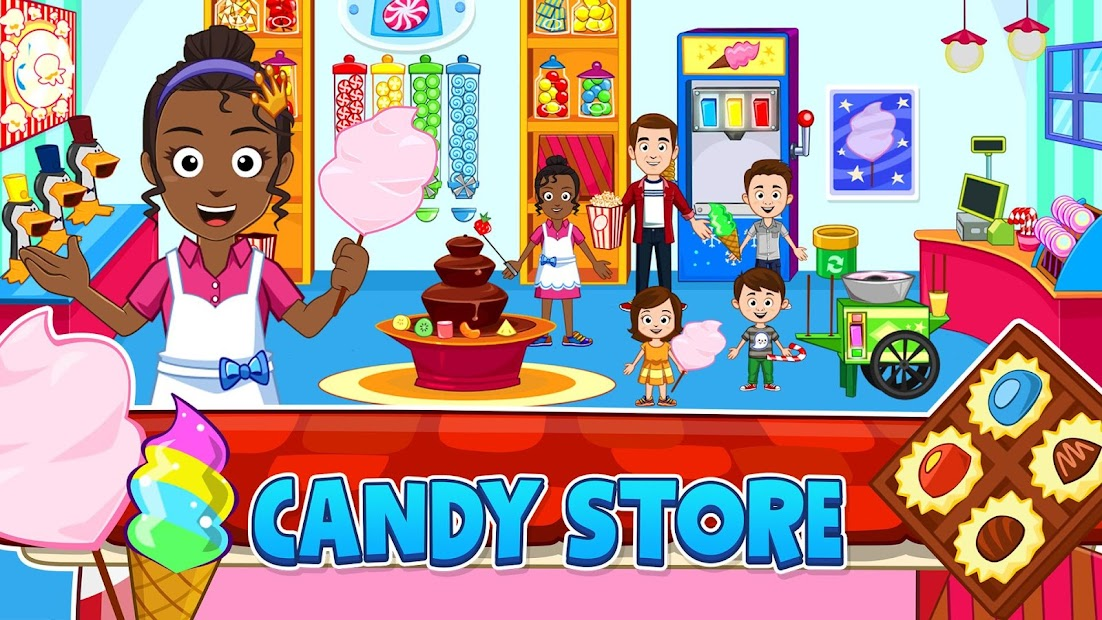 My Town : Stores متاجر