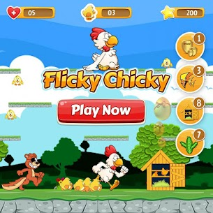 Flicky Chicky MOD Apk 1.20 (Unlimited Lives) 1