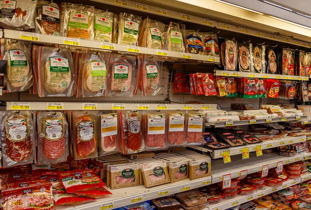 В супермаркетах США. Фотографии, продукты, цены