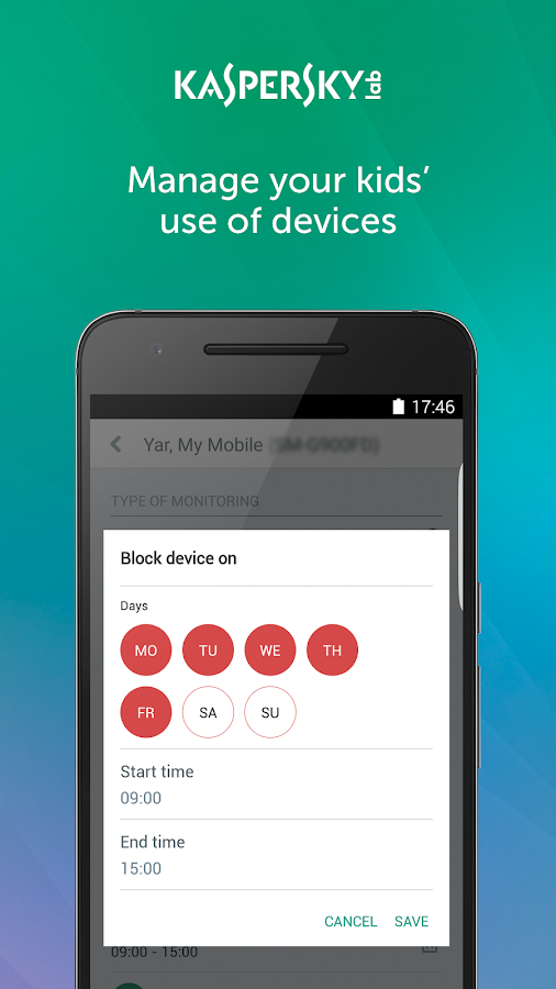 Google parental controls android