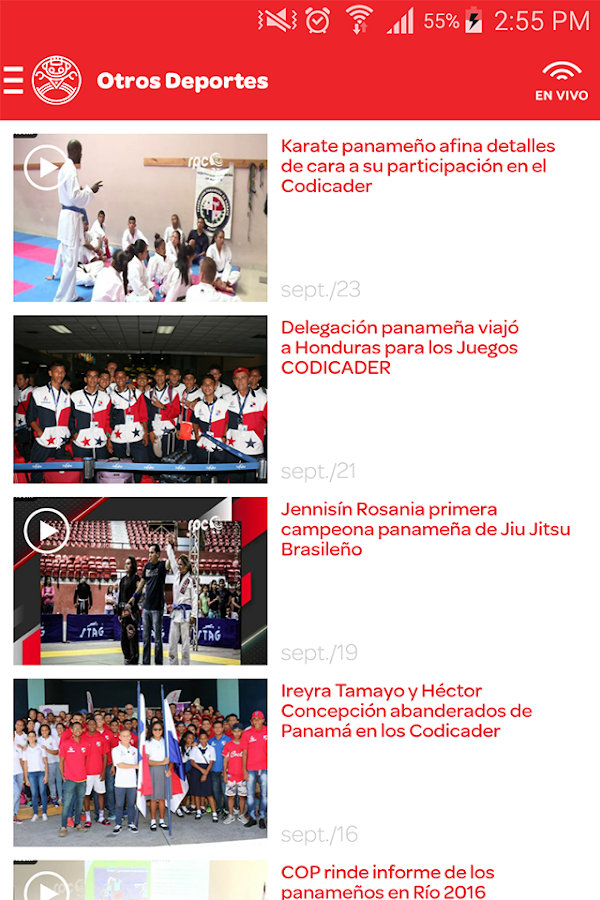 Deportes RPC- screenshot