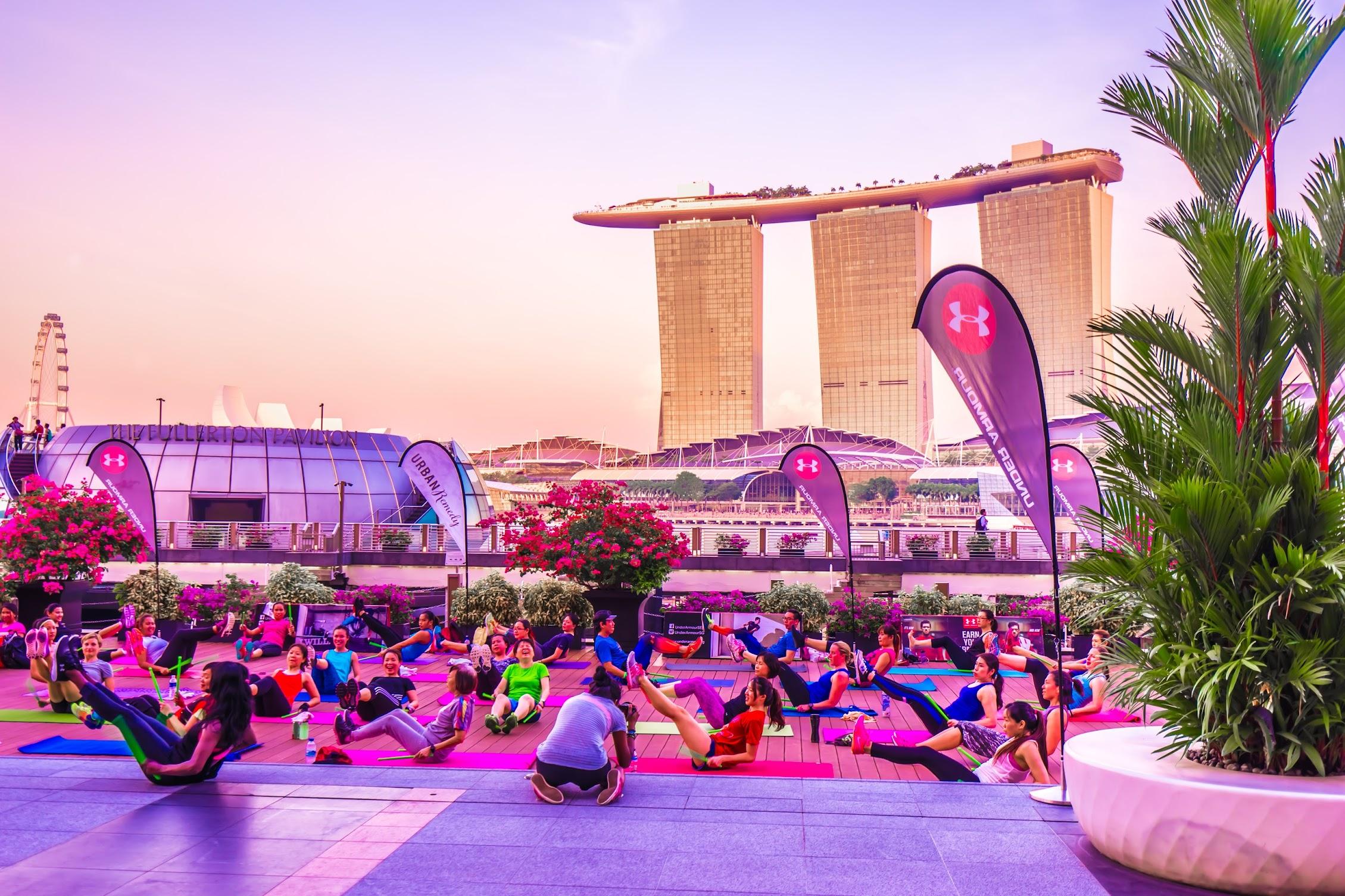 Singapore Group exercise