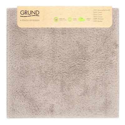 Коврик для туалета Grund Marla тауп 60х60 см