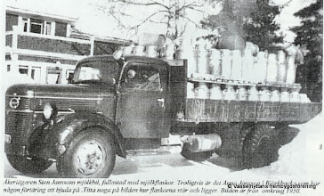 Photo: Mejeriet 1950-tal mjölkskjuts
