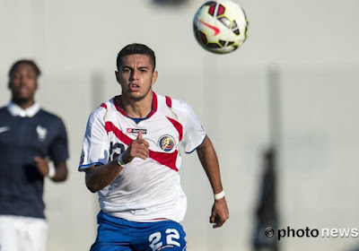 Ronald Matarrita staat in de belangstelling van Club en Gent