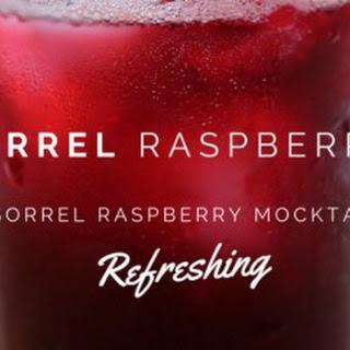 Sorrel-Raspberry Mocktail