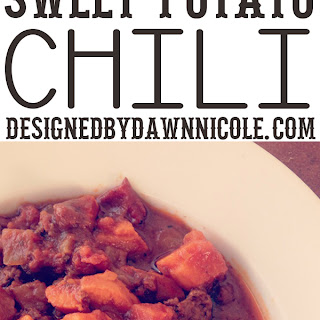 Slow-Cooker Chipotle Chocolate Sweet Potato Chili {Whole 30 Compliant}