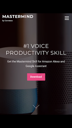 Mastermind Voice AI - Alexa, Google & workplace AI 2.0.1-PROD screenshots 1