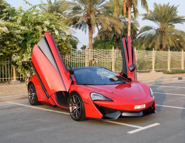 McLaren as a Weekend Car Rental
