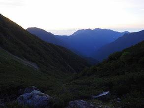Photo: アサヨ峰と鳳凰三山