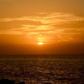 Atlantis Sunset by Nadeem M Siddiqui - Landscapes Sunsets & Sunrises