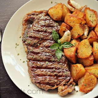 Steak and Potatoes.