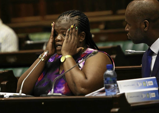 Minister Faith Muthambi. Picture: ESA ALEXANDER/THE TIMES