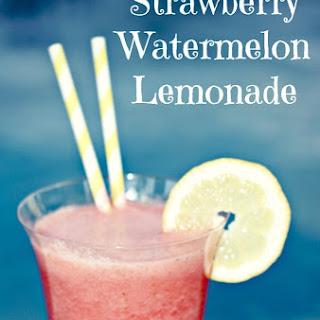 Strawberry Watermelon Lemonade.