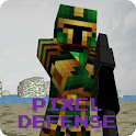 Pixel FPS - Gun Defense icon