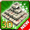 3D Mahjong Solitaire FREE icon